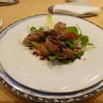 レストラン アンシャンテ - 前菜のサラダ