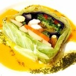 ロイヤルホスト - 11種の野菜と鰕のテリーヌ