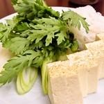 35920914 - 凝コース:すき焼きの野菜