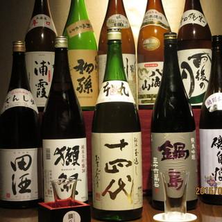 プレミアムな地酒日本酒&焼酎ご用意しています。