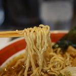 ソラノイロ Japanese soup noodle free style - 麺のアップ