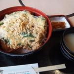 レストラン神の蔵 - 霧島黒豚カツ丼 980円