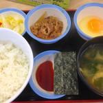 松屋 - 朝定食 380円