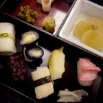西利 - 京漬物寿司