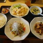 四川飯店 - 日替わり四川コース