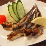 さつま路 - 料理写真:ガランツ塩焼き 550円