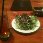 cafe dining e - 和風サラダ(一人前)
