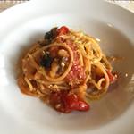 ヴィッラ デルピーノ - どのお料理にも地元の野菜が使われています。