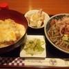当り矢 - 料理写真:かつ丼&おろし蕎麦のセット