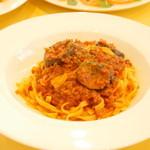 スパツィオ - 茄子のボロネーゼ\780