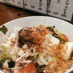 気楽料理 だい - 豆腐と桜海老のサラダ