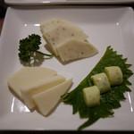 信州くらうど - 信州チーズ三種盛り~☆