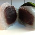 お菓子のボンヌ  - 笹大福 割面