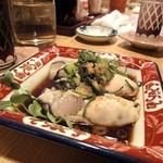 中島屋 - 牡蠣ポン酢