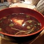 中島屋 - 赤だし魚
