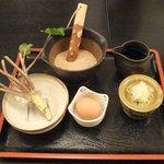 Benihouzuki - 冬期限定自然薯とろろ蕎麦のとろろなど