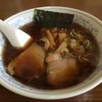 らーめん愛桜 - 料理写真:しょうゆラーメン 600円