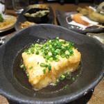 てっぺん - 自家製豆腐の厚揚げ (Mar. 2015)