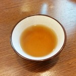 駒そば亭 - そば茶