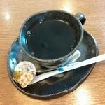 駒そば亭 - 食後のコーヒー 100円