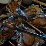 寿シーフード - 最後に焼き牡蠣?