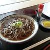 きくの園 - 料理写真:かけそば 400円(税別)