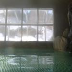 きくの園 - 外は雪景色
