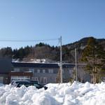 きくの園 - 3月中旬、まだすごい雪〜