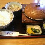 大橋屋 - 料理写真:かつ鍋定食