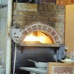 ヴィラ玉山 - ピザ焼き用の石釜