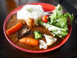 スカイツリーカフェ フロア340 - カレー(中辛)¥950