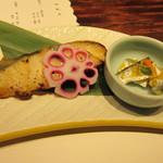 瓢 - 鰆の西京焼+小付きママカリ!美味ぃぃ〜♪