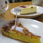 nico - 「バナナのタルト」と「イチゴのWチーズケーキ」