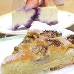 nico - 「バナナのタルト」と「フルーツのいっぱいのったニューヨークチーズケーキ」