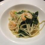 35942730 - 「小海老と菜ばなのリングイネ」