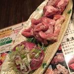 肉屋の台所 道玄坂ミート ぶたキム - ネギタン塩、セセリ鶏、イベリコ豚