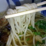 あさうどん - 細麺なうどん