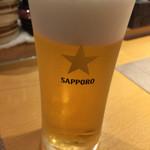 Sushi Bar きよ原 - ビール