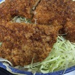 若松食堂 - ソースカツ丼セット、ソースカツ丼アップ