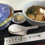 若松食堂 - ソースカツ丼セット