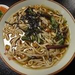 手打庵 松原店 - 山菜蕎麦