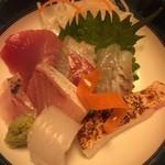 魚彩鶴巳 - お造り盛り合わせ