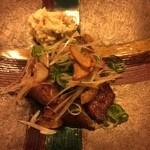 魚彩鶴巳 - 和牛のステーキ