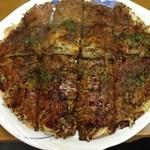 十三 - 料理写真:お好み焼(豚・玉子)
