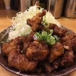 洋食工房パセリ - 豚バラ肉にんにく揚げ定食