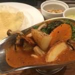 東京カレー屋名店会 - インド風野菜カレー35辛