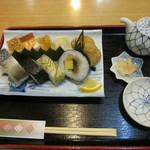 いづ松 - 京寿司セット 1400円