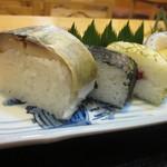 いづ松 - 鯖寿司も一切れ・・これ、美味しかった~