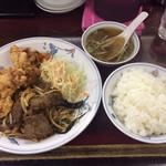 来来 - 料理写真:牛焼肉定食900円