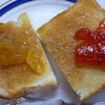 カフェドペリーヌ - ジャム付トースト